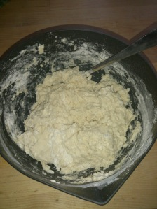 Snegle Dough after mixed