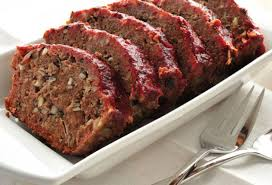 I had some really great photos of me making Meatloaf but they have somehow disappeared from my computer so I  downloaded this amazing shot off the internet as a cover photo.