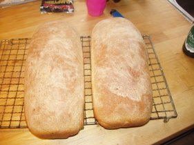 Potato wheat bread