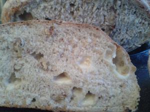parmesan and walnut loaf